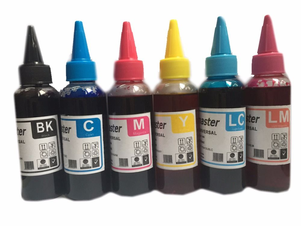 600ML Dye Ink T0981 T0991 Refill Ink For Epson Artisan 700 800 710 810 600 725 835 837 730 Printer Ink