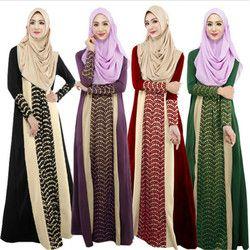 Pakaian Turki Abaya Muslim Wanita Gambar Islamic Jilbab dan Abaya Dresses Turki Kaftan Plus Ukuran Jubah Musulmane