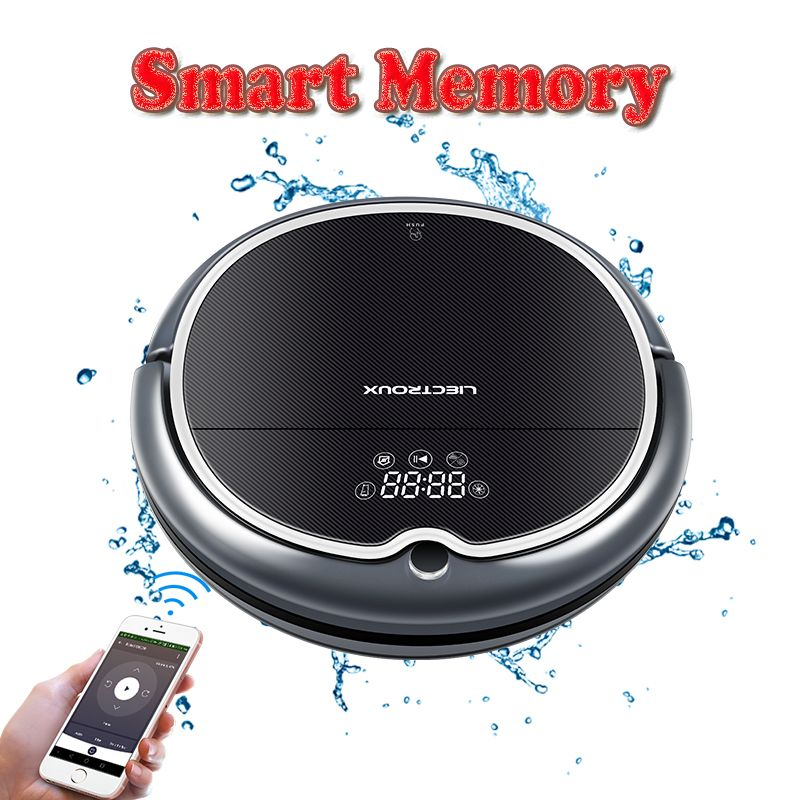 (EU Warehouse)LIECTROUX Robot Vacuum Cleaner Q8000,Map Navigation, APP Contral, Suction 3000Pa,Wet Dry Mop, robot aspirador