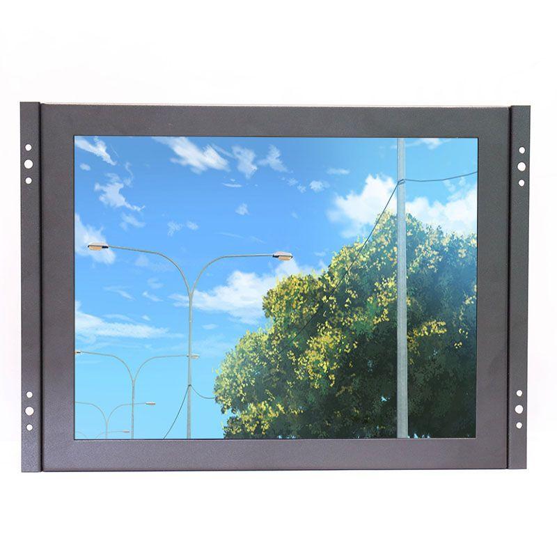 ZHIXIANDA KF12 12 zoll open frame industrial metall shell lcd monitor 1024*768 standard auflösung