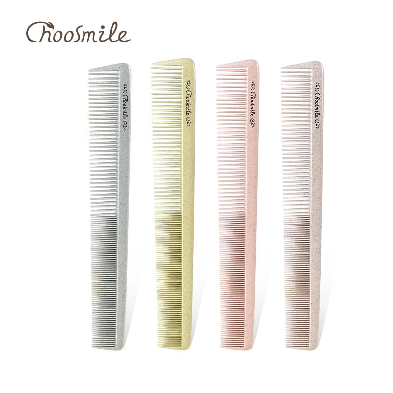 Choosmile Professional Hair Combs Salon Barber Wide & Fine Teeth Straight Hair Comb Anti-static Hairbrush Hair Care Styling Tool