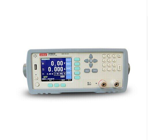 Hohe qualität AT8612 Programmierbare DC Elektronische Last 300 W 150 V 30A 3,5 ''TFT LCD RS232 DHL EMS UPS FREIES SCHNELLES SCHIFF