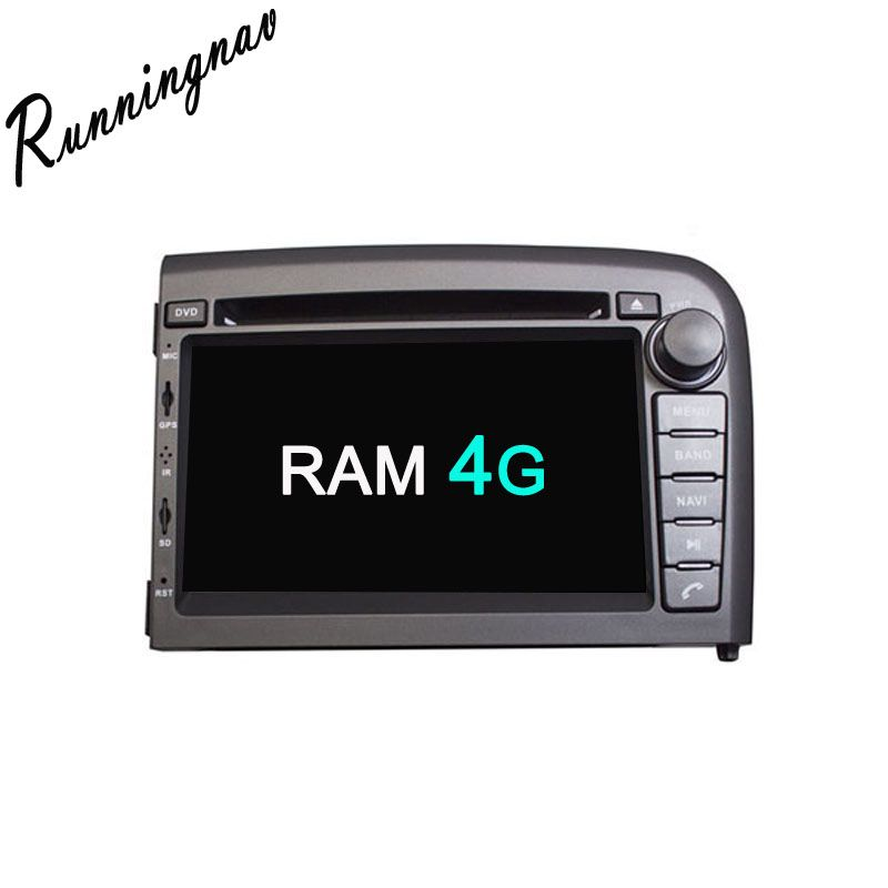 Android 8.0 Octa-core Android RAM 4G ROM 32G Android Fit VOLVO S80 1998-2006 Auto DVD-Player Navigation GPS Radio