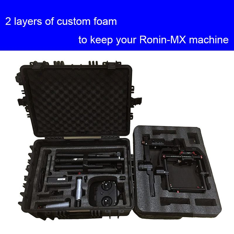 high quality DJI ronin MX protective case impact resistant protective case with custom EVA lining
