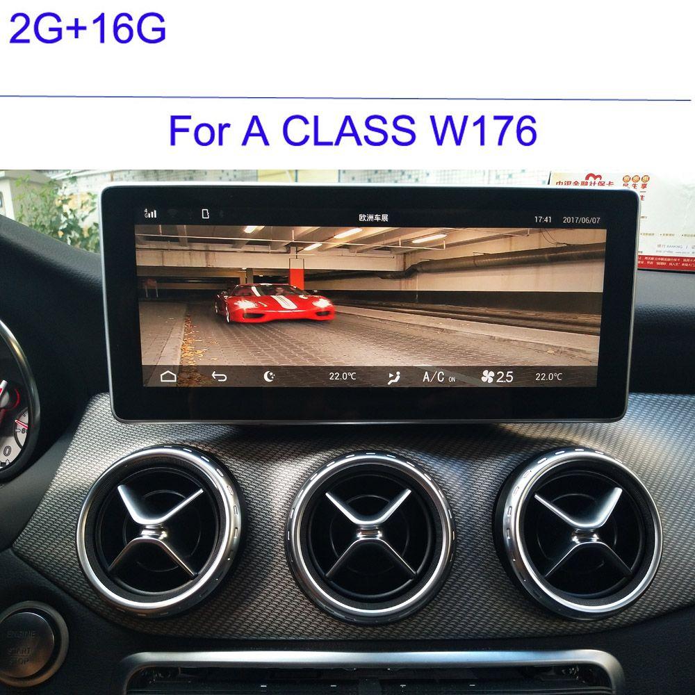 2g RAM 16g ROM Auto Navigation für Mercedes Ben z EINE KLASSE W176 2013 2014 2015 2016 2017