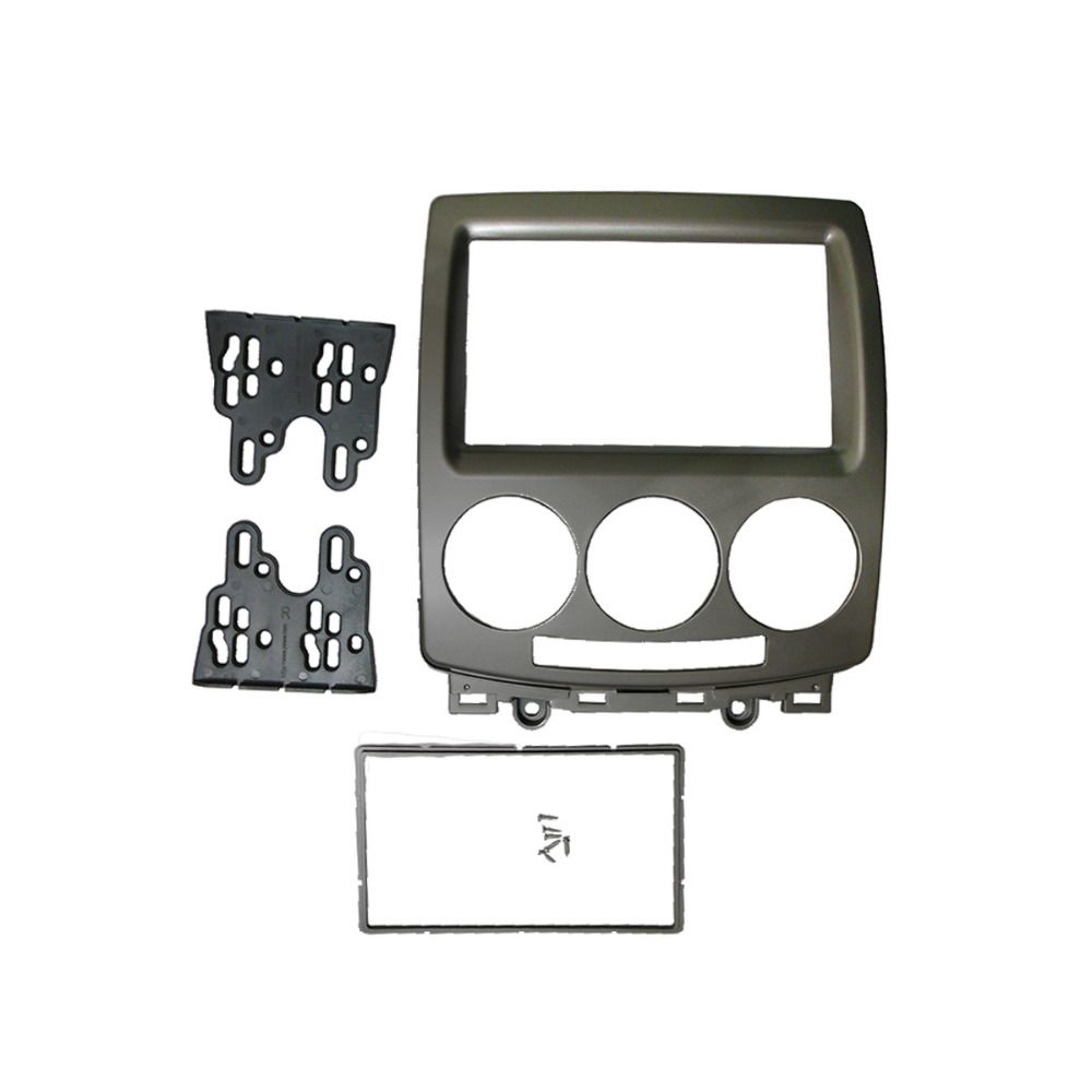 for MAZDA 5 Premacy Double Din Fascia DVD Stereo Panel Radio Refitting Dash Mount Install Kit Face Plate