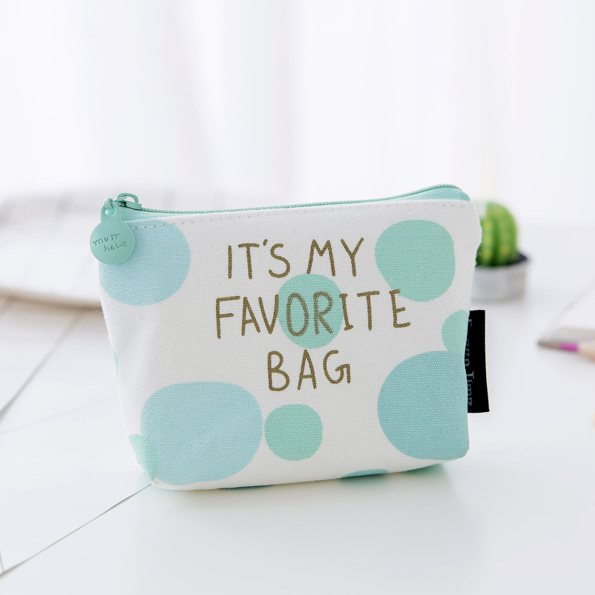 Pouch Little Money Bag Girl's Mini Coin Wallet Unisex Ladies Cheapest Canvas Small Zip Change Coin Purse Key Car B