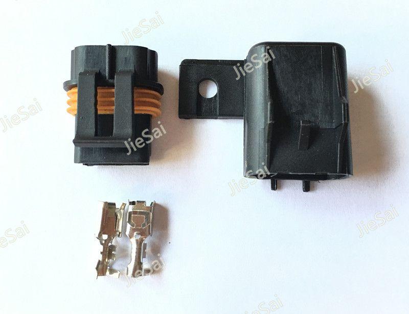 2 broches 12033769 54200521 12033731 connecteurs femelles et mâles scellés pour le câblage de fusible en ligne connecteur automobile