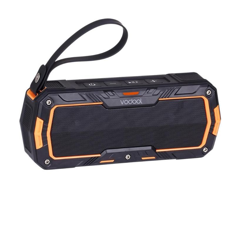 VODOOL Outdoor Sport Wireless Bluetooth Speaker Portable Motorcycle Bike Handlebar Mount Two Channel Stereo Speakers Promotion
