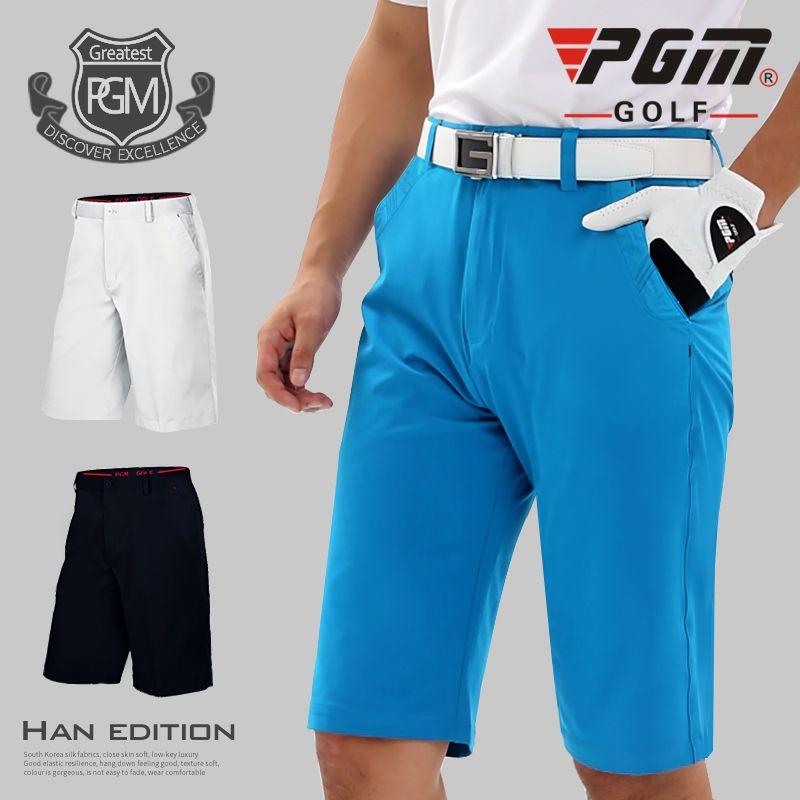 2017new pgm golf para hombre pantalones cortos ropa de deporte de verano transpirable ropa de golf xxs-3xl 99% poliéster de alta elasticidad