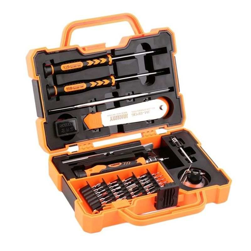 JAKEMY 45 in 1 Screwdrivers Set Repair Kit Opening Tools For Cellphone Computer