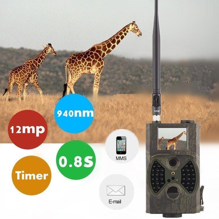 CE RoHS утвержденных SMS MMS GSM GPRS 1080 P HD видеонаблюдение 12MP Скрытая охоты камеры hc300m