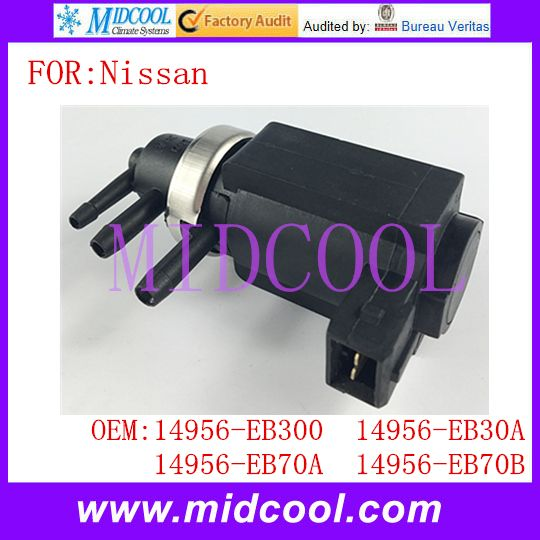 New Turbo Pressure Pressure Control Valve Converter use OE NO. 14956-EB300 14956-EB30A 14956-EB70A 14956-EB70B for Nissan