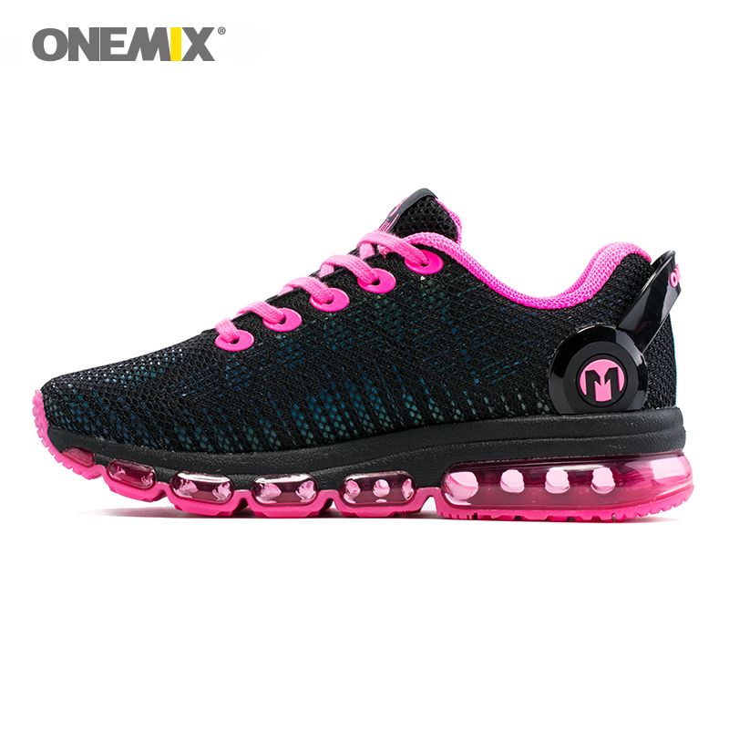 Onemix women running shoes women sneaker lightweight reflective mesh vamp sneaker for women outdoor sports jogging walking shoes