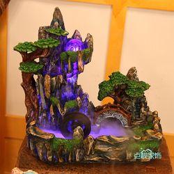 Bureau Feng Shui ornements accessoires pour la maison intérieure réservoir d'eau rocaille fontaine d'eau humidificateur bonsaï