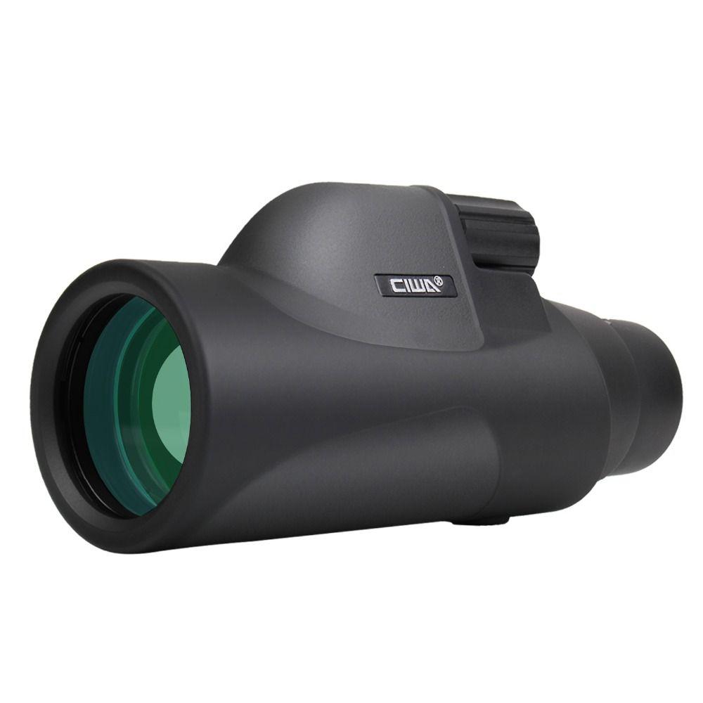 CIWA KEINE nachtsicht HD Monokulare vision auge 10X42 Leistungsfähige Einzel Fokus Teleskop Okular HD High-power einzel-objektiv Monokulare