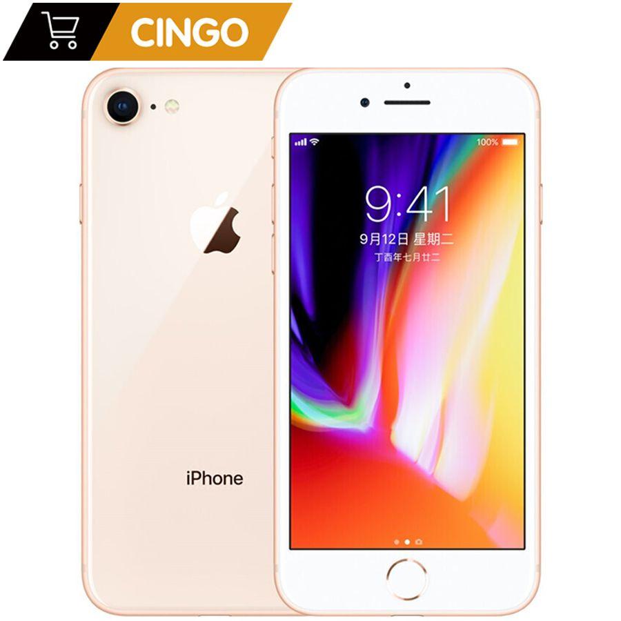 Original Apple iphone 8 Hexa Core 1821mAh RAM 2GB ROM 64 GB/256 GB 3D Touch ID 4,7 zoll 12MP LTE Fingerprint Telefon iphone 8
