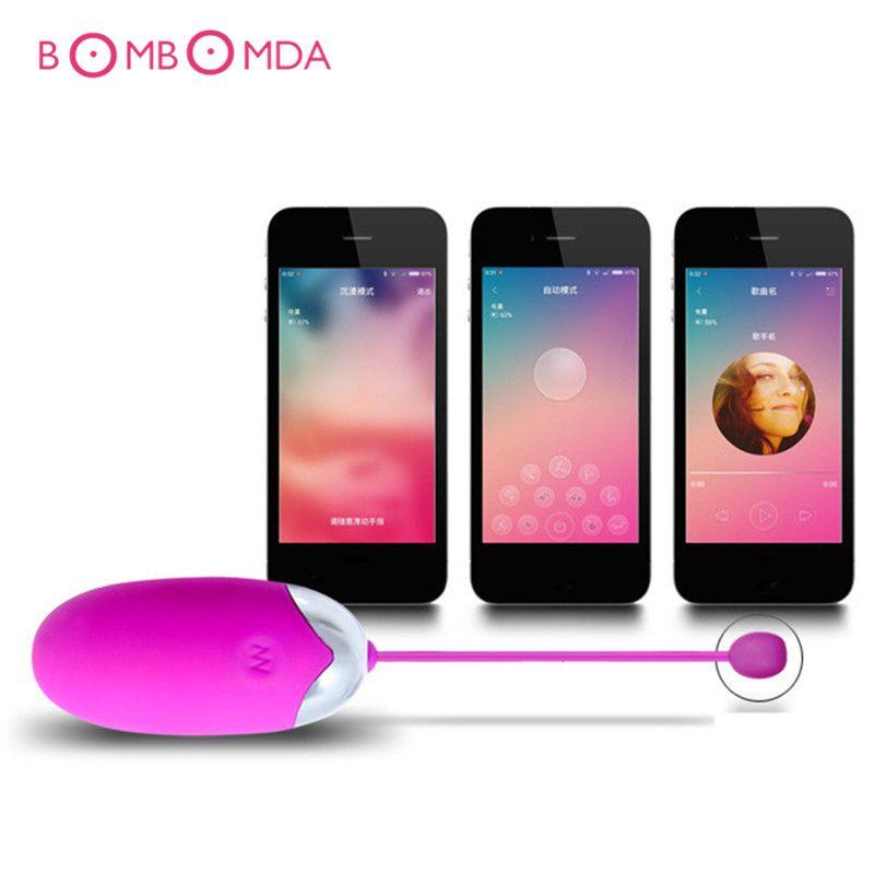 USB rechargeable sans fil télécommande App saut oeuf vibrateurs Silicone vibrant gode vibrateur Sex Toys pour couples