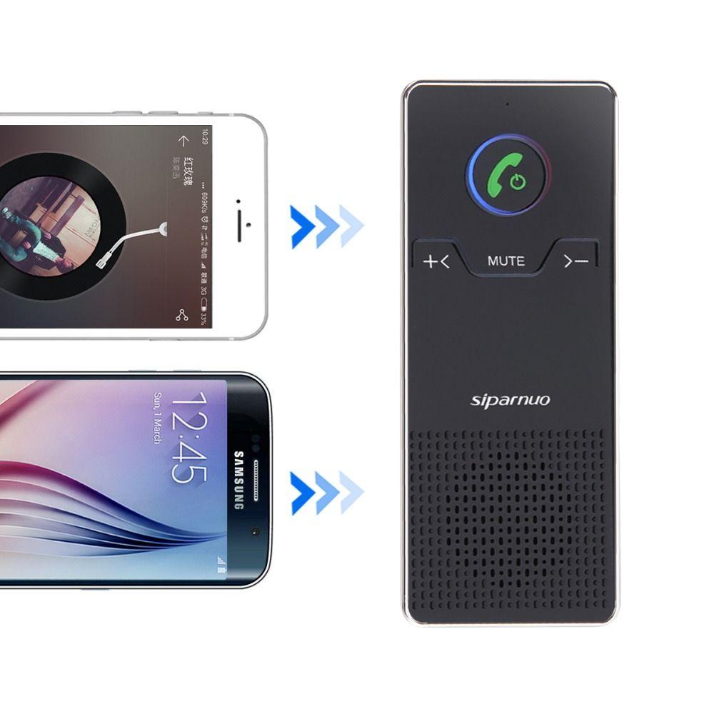 Pare-soleil Haut-Parleur Sans Fil Bluetooth Mains Libres Kit De Voiture Pour Mobile téléphone Mains Libres De Voiture Haut-Parleur avec 2 W Haut-Parleur dans la Voiture SP01