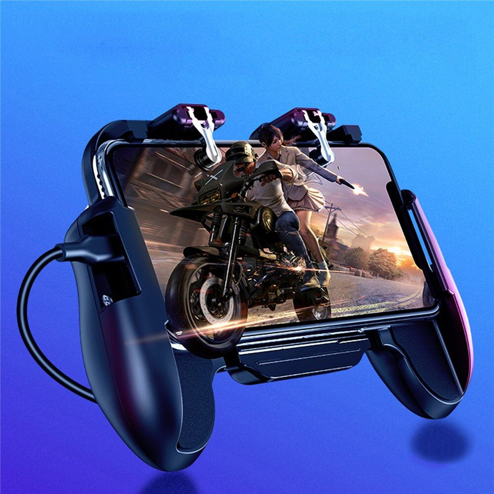 PUBG Mobile Controller L1R1 Gamepad Cooler Fan for iOS Android Joystick Free Fire Trigger Pubg Mobile Joystick Accessories