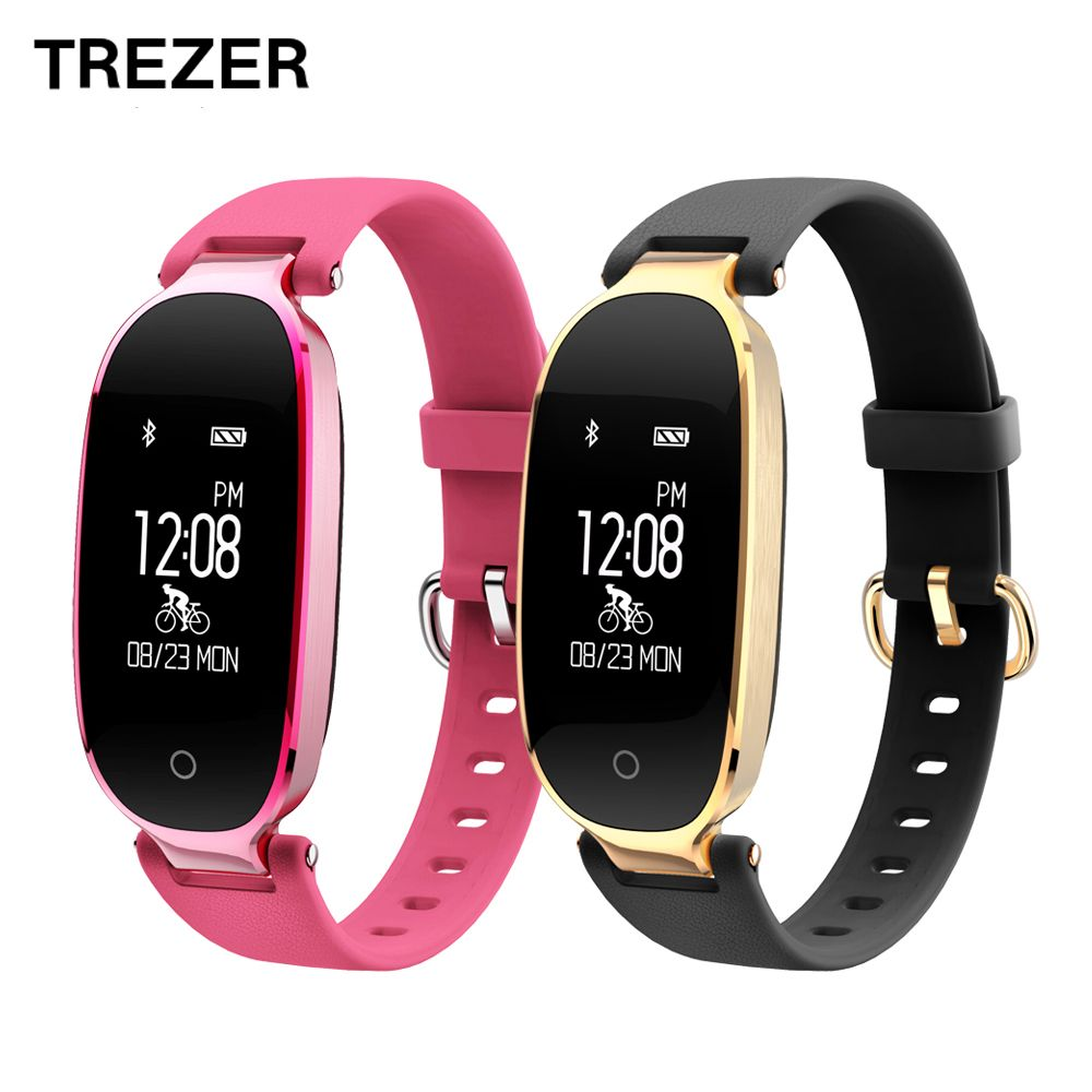 TREZER S3 Bluetooth Smart Watch Fashion Women Ladies Heart Rate Monitor Fitness Tracker Waterproof Smart watch for Android IOS