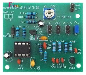 Sine Triangle Onde Carrée NE555 Multi-Forme D'onde de la Manche Générateur Module DIY Kits