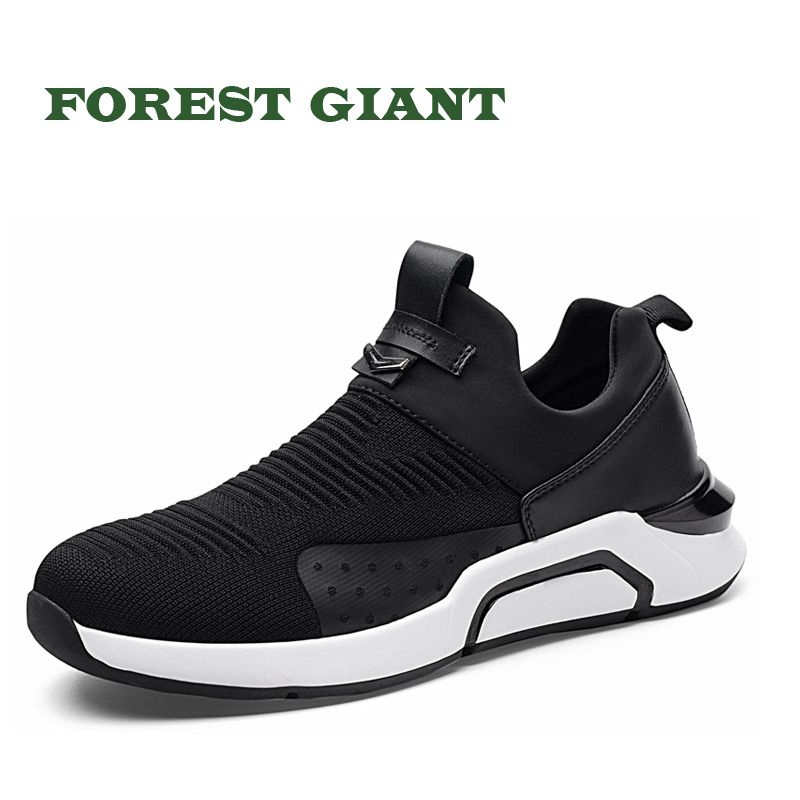 FOREST GIANT Brand Fashion Man Casual Shoes Breathable & Light Man Slip On Footwear Men Outdoor Sneakers 5231