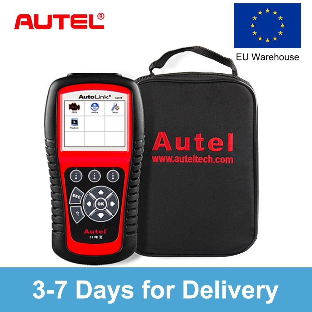 Autel AutoLink AL519 OBD2 Car Diagnostic too Scanner Code Reader OBD Car Automotive Tool EOBD CAN Automotive Scanner