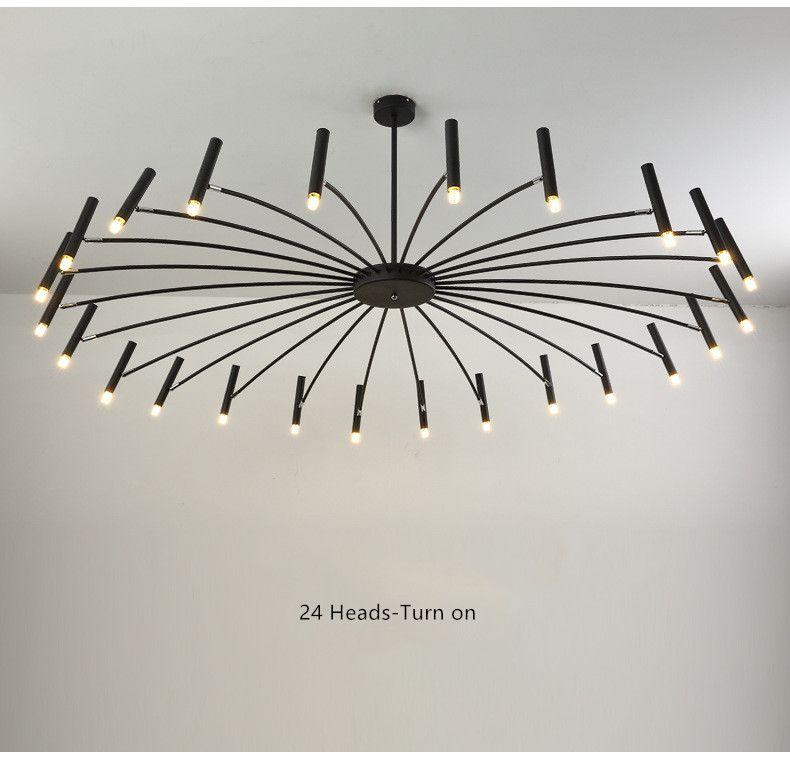 Nordic Loft Art Led Kronleuchter Kreative Kunst Schlafzimmer Restaurant Foyer Esszimmer Deco Licht Leuchte Leuchte