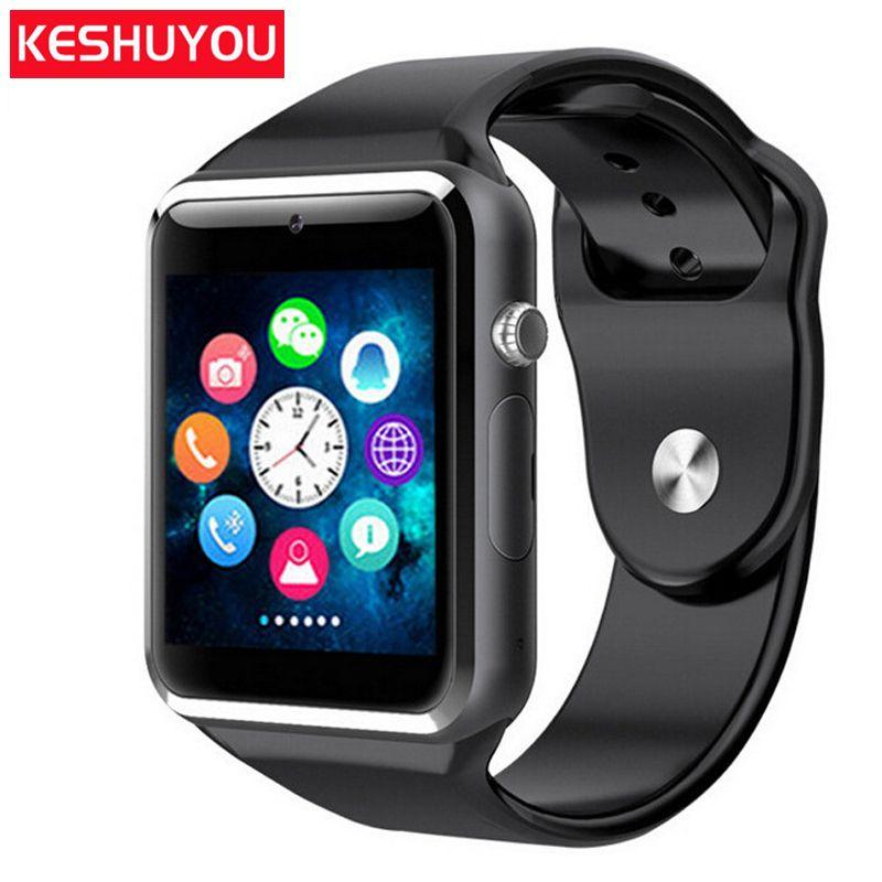 KESHUYOU Femmes Montres Intelligentes Android Telefon Smartwatch Montre Homme Smartwatch Android Smartwatch Femmes/Hommes/Enfants Pour Xiaomi Téléphone