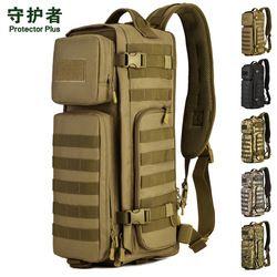 Militer Fan Udara satu bahu ransel Multi-fungsional Tas Bahu Besar Tas Gunung Assault Pack A2673
