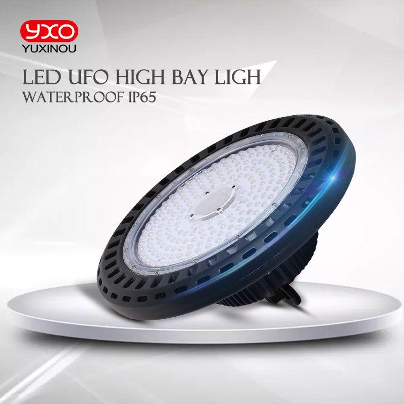 1 stücke IP65 100-277 v 100 W 150 watt 200 watt LED Decke Scheinwerfer Bergbau Lampe LED Industrie lampe LED UFO Hohe Bucht Licht Für Lager