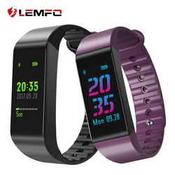 LEMFO Wristbands Smart Band Heart Rate Monitor Fitness Bracelet IP67 Waterproof Smart Band Blood Pressure for IOS Android Phone
