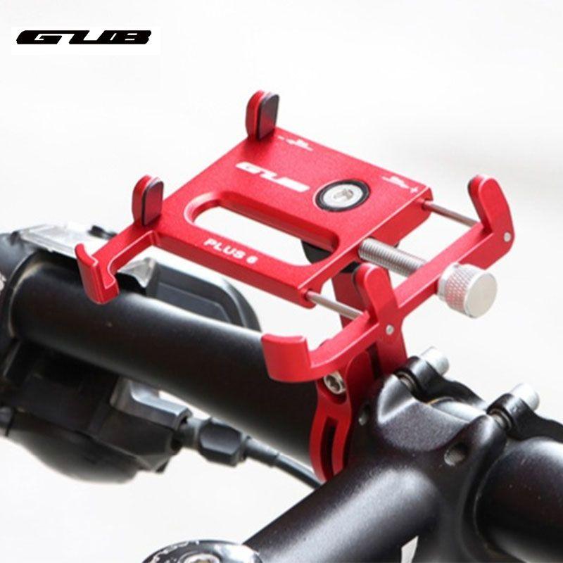 En aluminium vtt route VTT moto vélo support pour téléphone moto cellulaire téléphone portable fixation du support pour 3.5-7 pouces téléphone