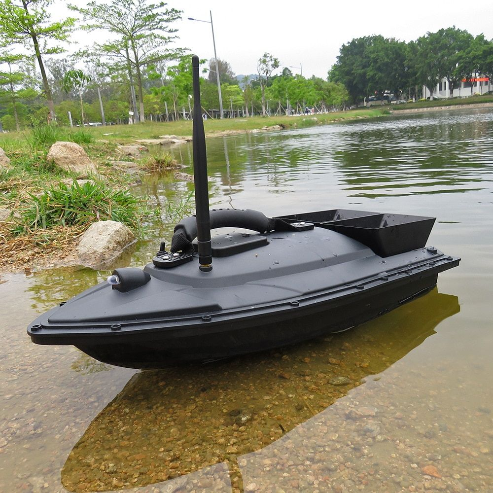 Flytec 2011-5 Fishing Tool Smart RC Bait Boat Toy Dual Motor Fish Finder Fish Boat Remote Control Fishing Boat <font><b>Ship</b></font> Speedboat