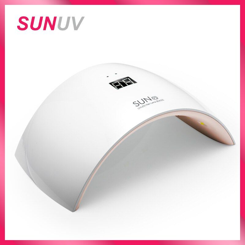 SUNUV SUN9s Nail Lamp 24W UV LED Light Nail Dryer with USB Charging Cable Professional Manicure Lamp For Finger and Toenails