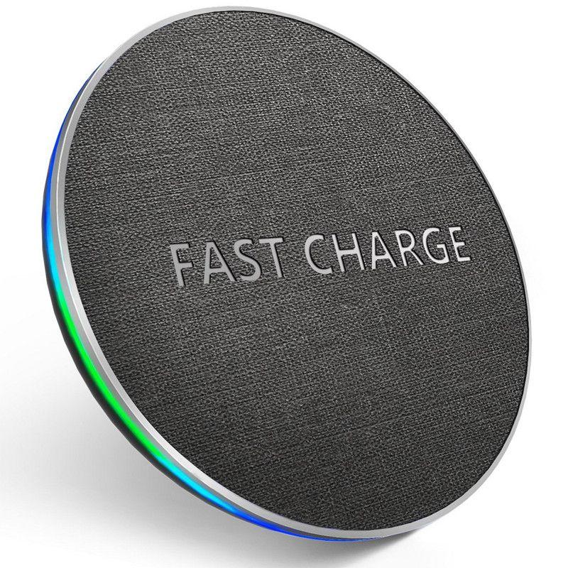 GETIHU Qi Sans Fil Chargeur 10 w Rapide Pour iPhone 8 Plus X XS XSMAX Sans Fil De Charge Pad Pour Samsung S8 wireless Chargeur pour Téléphone