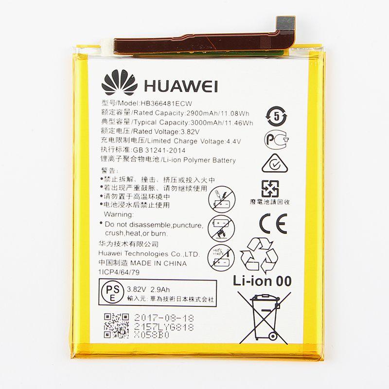 D'origine Huawei HB366481ECW Rechargeable Li-ion téléphone batterie Pour Huawei P9 Ascend P9 Lite G9 honneur 8 5C G9 EVA-L09 2900 mAh