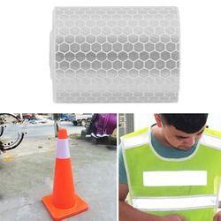 Sicherheit Mark Reflektierende Band Aufkleber Für Fahrräder Rahmen Motorrad Selbst Klebe Film Warnband Reflektierende Film