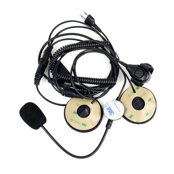 For Motorcycle Helmet Headset Walkie Talkie Accessories Microphone For Midland With Finger PTT Accessories C2150A