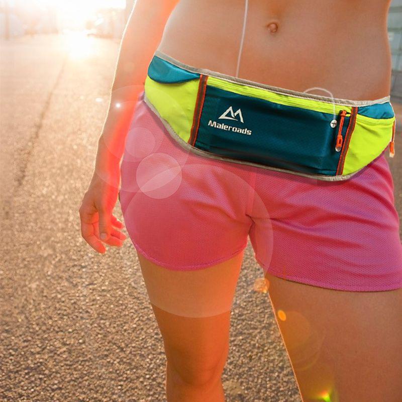 En plein air Hommes Femmes Taille Pack Sacs Sport Fitness Exercice De Stockage de Course Sport Blet Sac pour iPhone 6/6 plus téléphone mobile Flip Ceinture