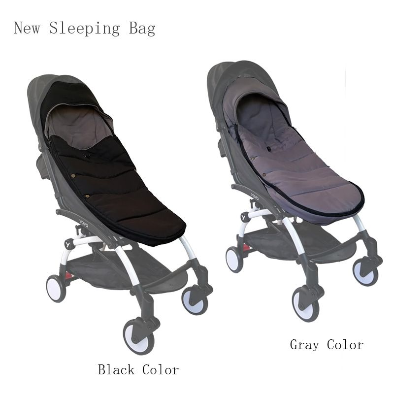 Baby Carriage Winter Sleeping Bag Windproof Cover For Yoya Yoyo Bugaboo Stroller Warm Footmuff Cover Baby Stroller Accessories