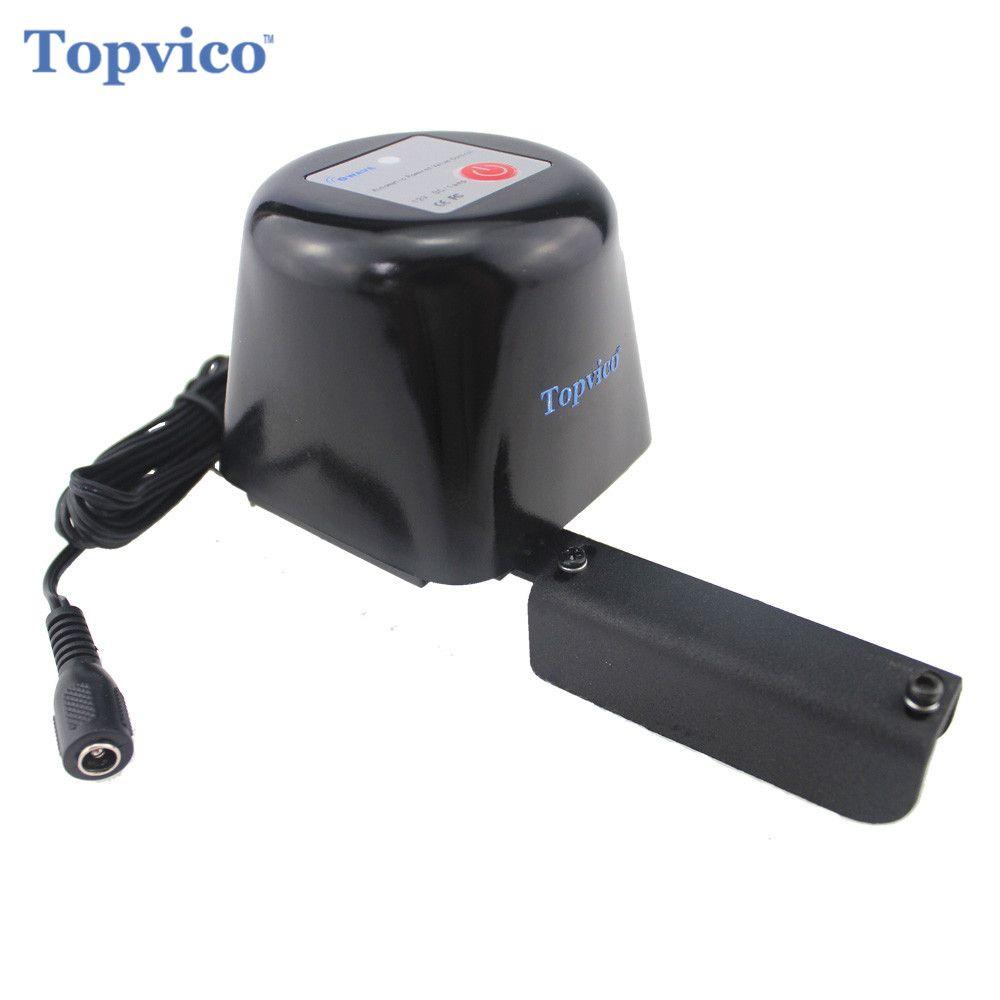 Topvico Z-Wave Plus Gas / Water Auto Valve Smart Home Automation Controller work with Water Leak Sensor Alarm Gas Leakage Sensor