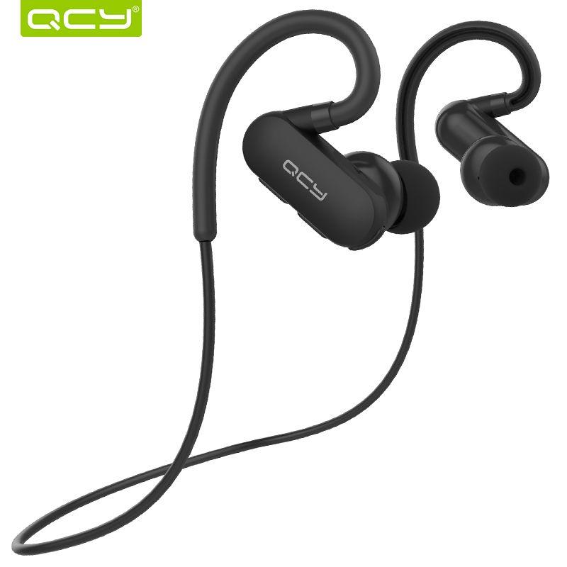 QCY QY31 IPX4 casque anti-transpiration Bluetooth 4.1 casque de sport sans fil aptx écouteurs stéréo avec micro