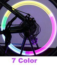 Велосипедная лампа, горная шина для дорожного велосипеда, колпачки для шин, фары, MTB спицы, светодиодное колесо, велосипедные аксессуары, све...