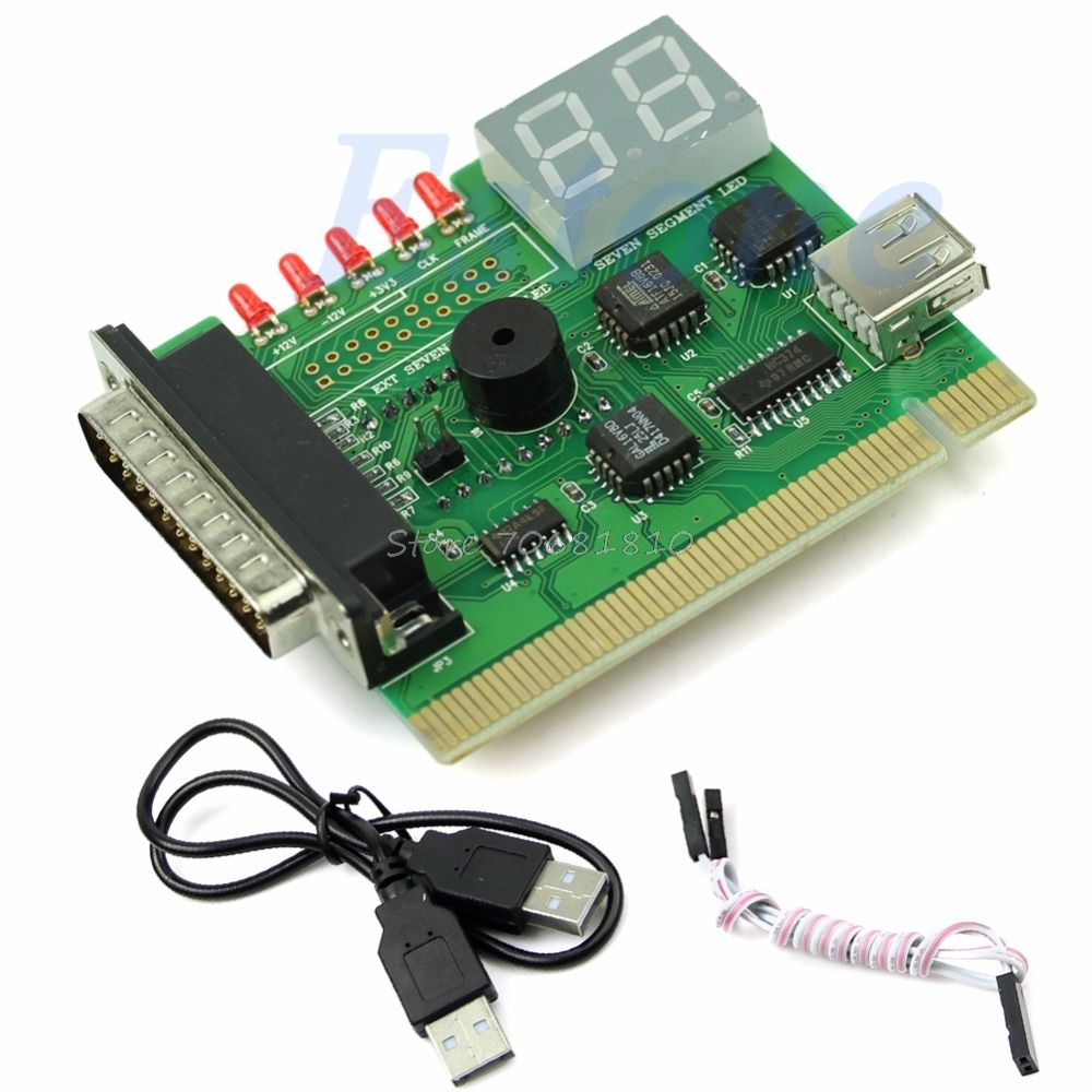 1PC USB PCI PC Notebook Laptop Analyzer Motherboard Diagnostic POST Card Drop Shipping