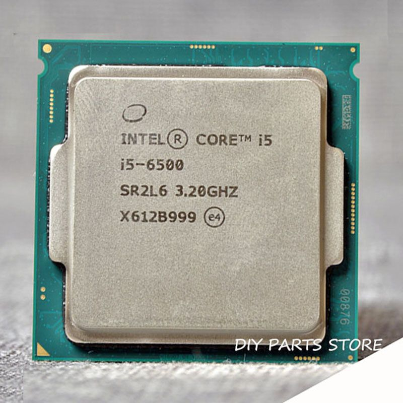 Intel core Quad-core I5-6500 I5 6500 LGA 1151 3,20 GHz 6 Mt RAM DDR3L-1333, DDR3L-1600 DDR4 GPU HD530