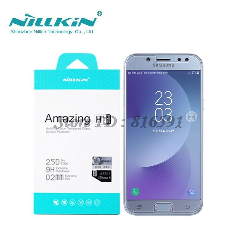 Nillkin Screen Protector For Samsung Galaxy J7 2017 J730F Amazing H+Pro 0.2MM sFor Samsung J7 2017 Tempered Glass