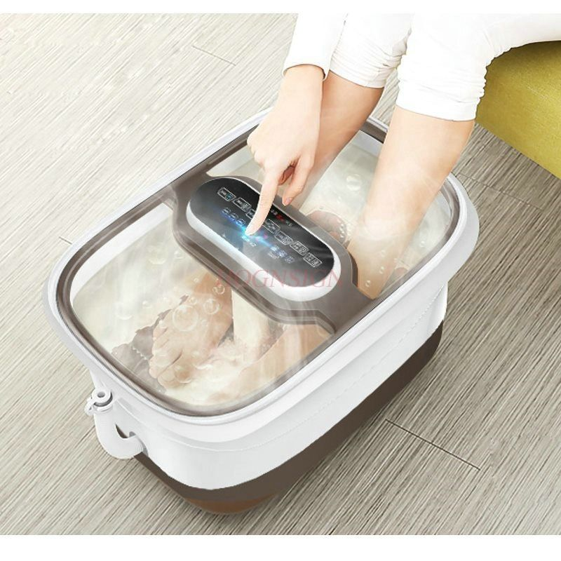 Feet Tub Heating Plantar Machine Home Massage Automatic Double Foot Washing Electric Constant Health Fumigation Deep Barrel
