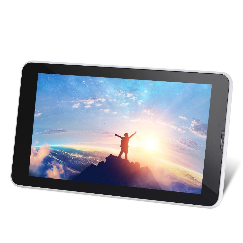 De noël 7 pouce 3g CARTE SIM Appel Téléphonique Tablet Pc Quad Core Android 7.0 Comprimés 16 gb PAD Double caméra GPS WIFI Bluetooth IPS